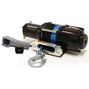 winch 3600 with synthetic rope and remote