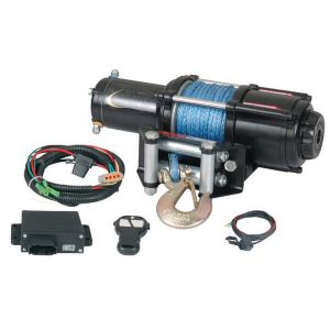 winch 3600 with synthetic rope