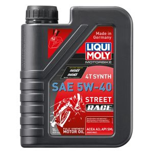 Oil 4T Synthetic Street Race 5W40 1L