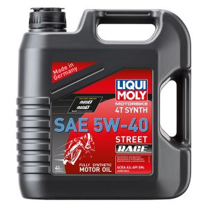 Oil 4T Synthetic Street Race 5W40 4L