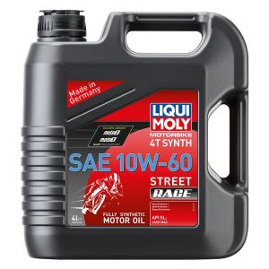 Oil 4T Synthetic Street Race 10W60  4L