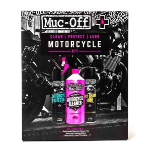 Motorcycle Clean Protect and Lube Kit
