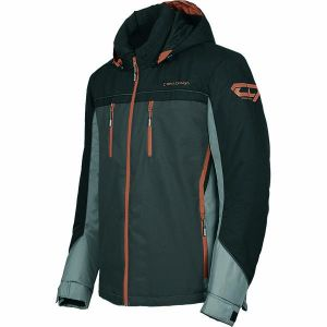 Manteau Alpine Noir/Orange 2021