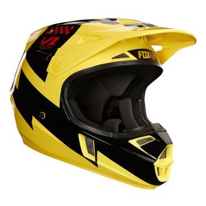 Casque Mastar V1 Junior Jaune