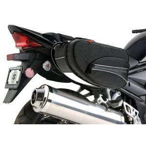 Mini expendable saddlebags