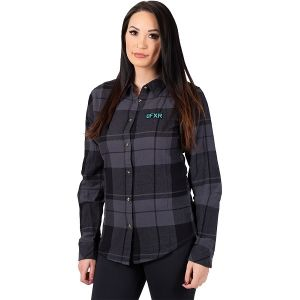 Track Plaid Shirt