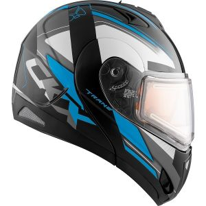 Tranz helmet RSV Offence electric double visor