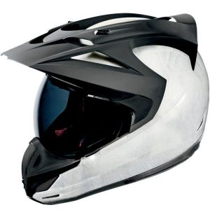 Variant Carbon Cyclic Helmet-White/Black-S